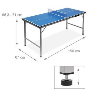 Relaxdays Table de ping-pong