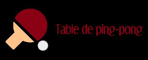 logo table de ping pong