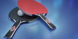 Raquettes de ping-pong