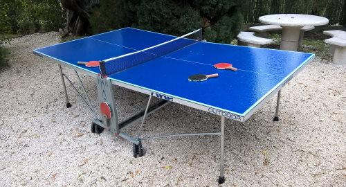 Table de ping-pong d'extérieur