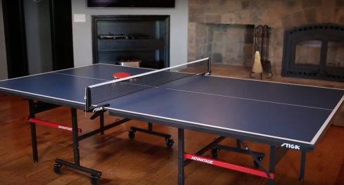 Table de ping-pong d'intérieur